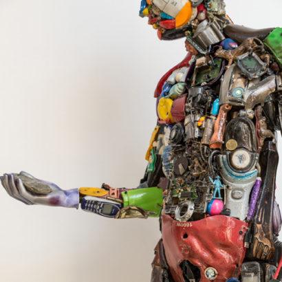 man in the plastic era